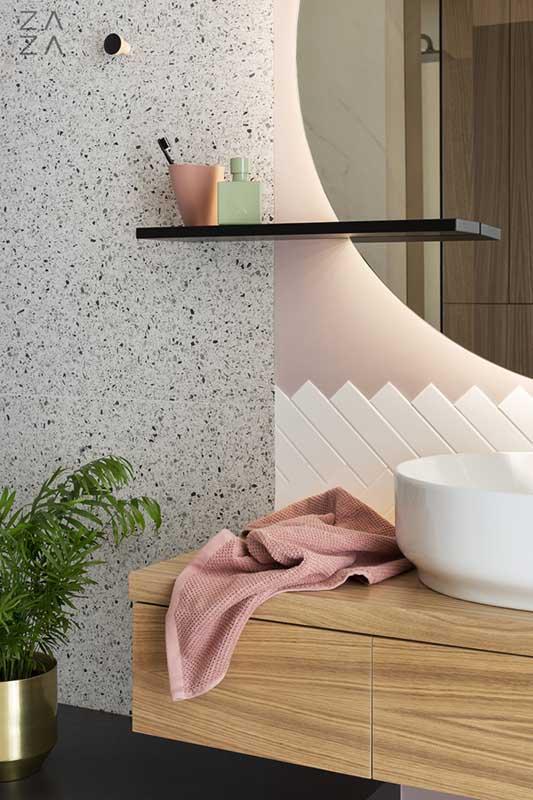 łazienka z lastryko