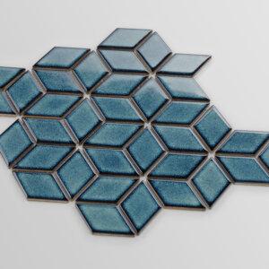 Mozaiki Raw Decor HEKSALONG ADRIATYK, SZKLIWIONY