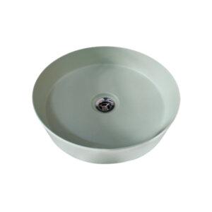 HushLab SLIM 40 umywalka 40X40 kolor jasnozielony matowy
