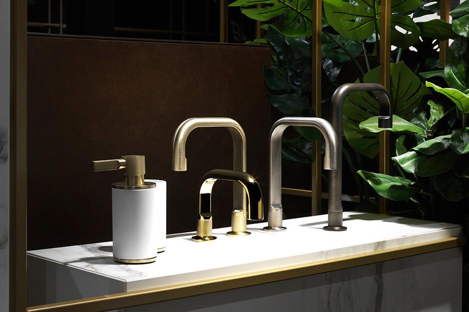 Kolekcja Inciso marki Gessi jest dostępna w showroomach z Grupy Internity Home