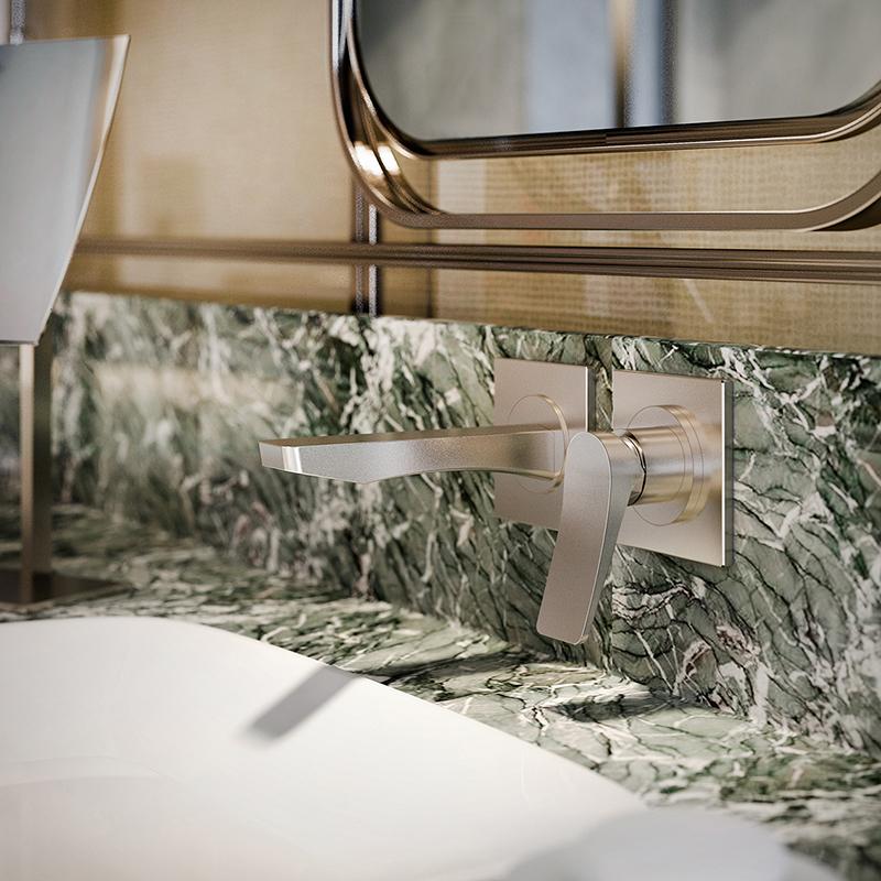 Kolekcja Rilievo marki Gessi jest dostępna w showroomach z Grupy Internity Home