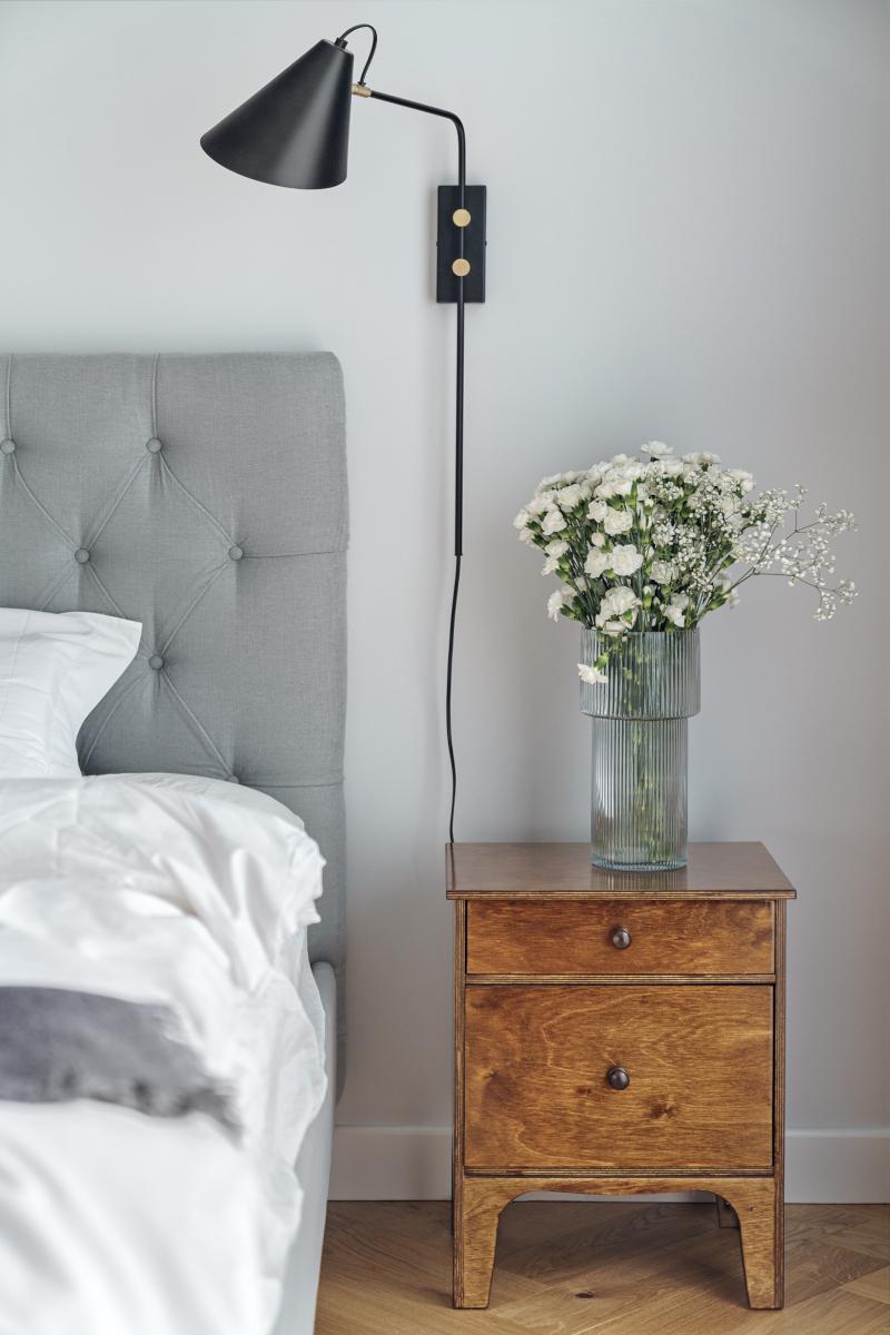 Sypialnia | proj. luumo, zdj. Tom Kurek