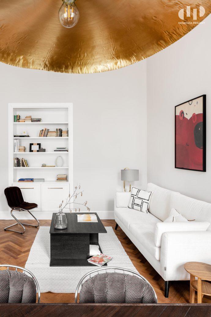Domowa biblioteczka | proj. Dziurdzia Projekt, zdj. Ayuko Studio