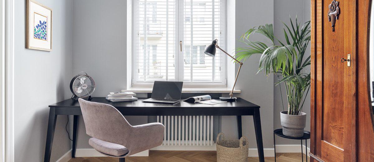 Home office | proj. luumo, zdj. Tom Kurek
