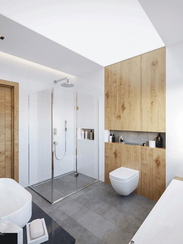 Łazienka dzieci | proj. Motyw Design