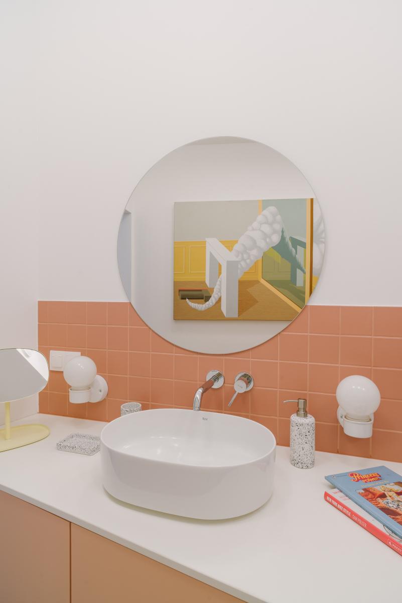 Trend kolorystyczny Cantaloupe 2020 roku | proj. NOWW Studio