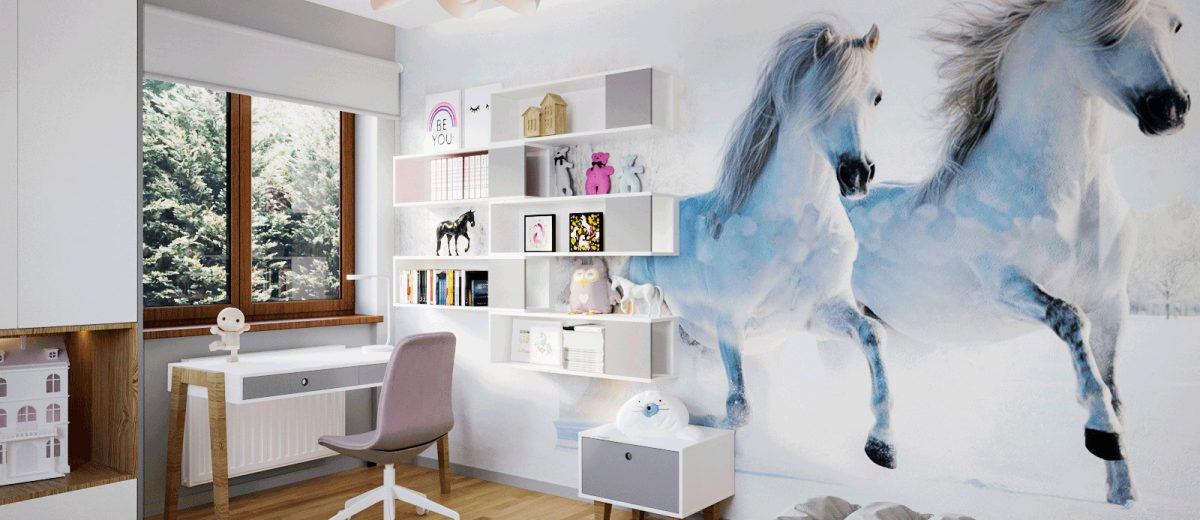 Pokój córki | proj. Motyw Design