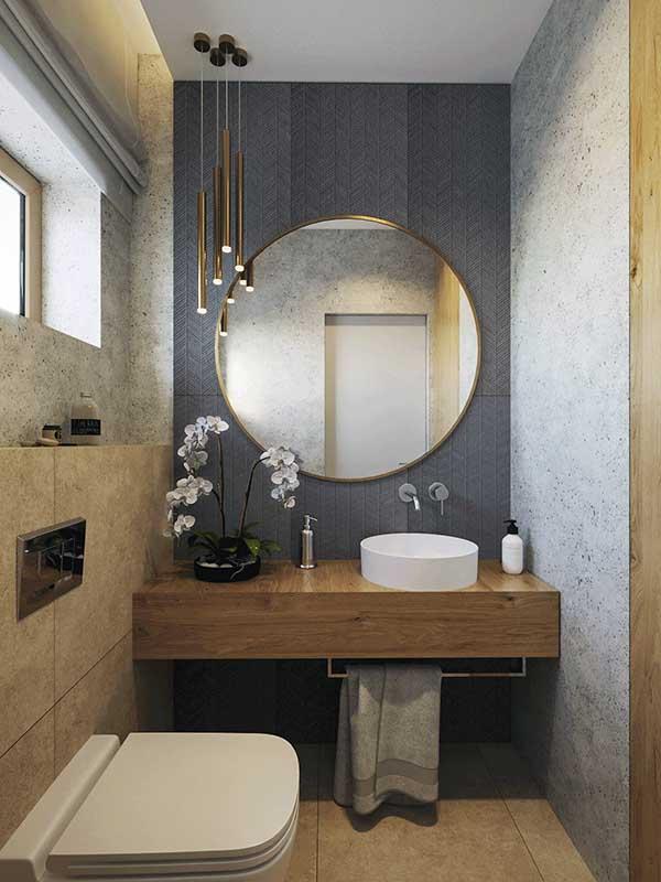 WC na parterze | proj. Motyw Design