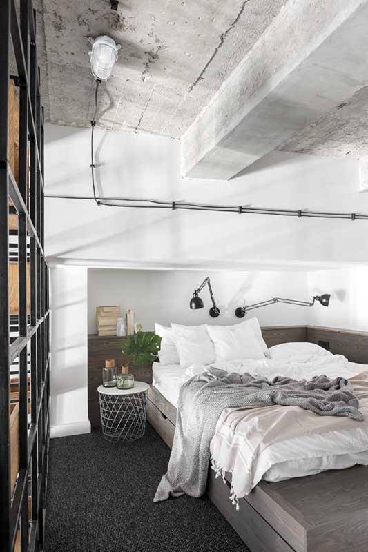 Pomysł na sypialnię | proj. Lokal Studio