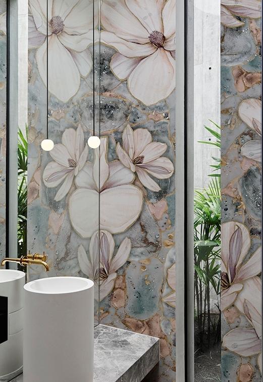 Tapeta Brillante z nowej kolekcji Wet System od Wall & Deco