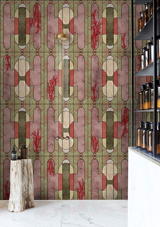 Tapeta Cabinet de Curiosite z nowej kolekcji Wet System od Wall & Deco