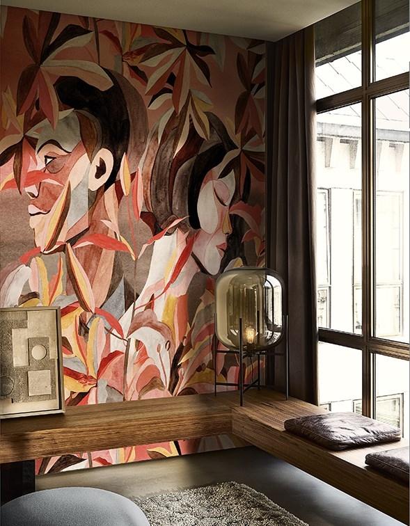 Tapeta z kolekcji Conteporary Wallpaper 2019 od Wall & Deco (produkt dostępny w naszych showroomach)