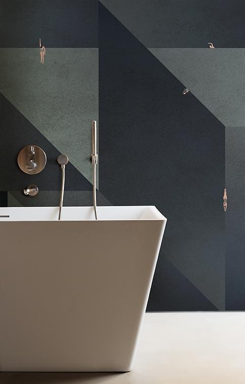 Tapeta La Plongee z nowej kolekcji Wet System od Wall & Deco