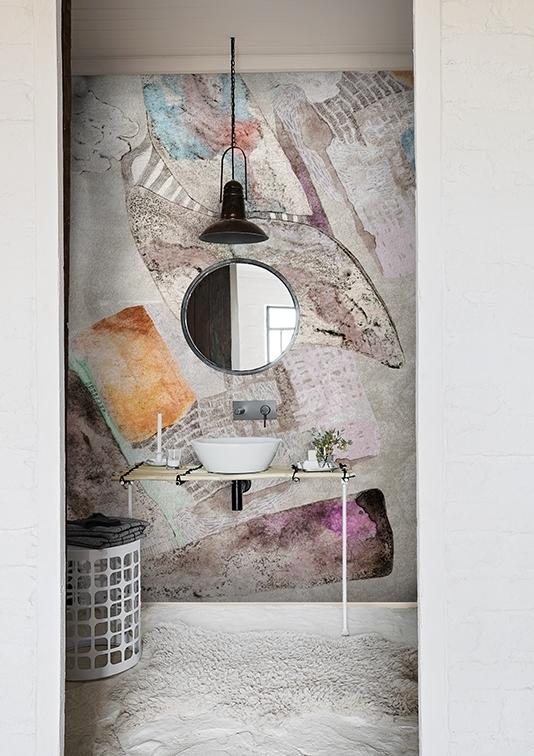 Tapeta Marmilla z nowej kolekcji Wet System od Wall & Deco