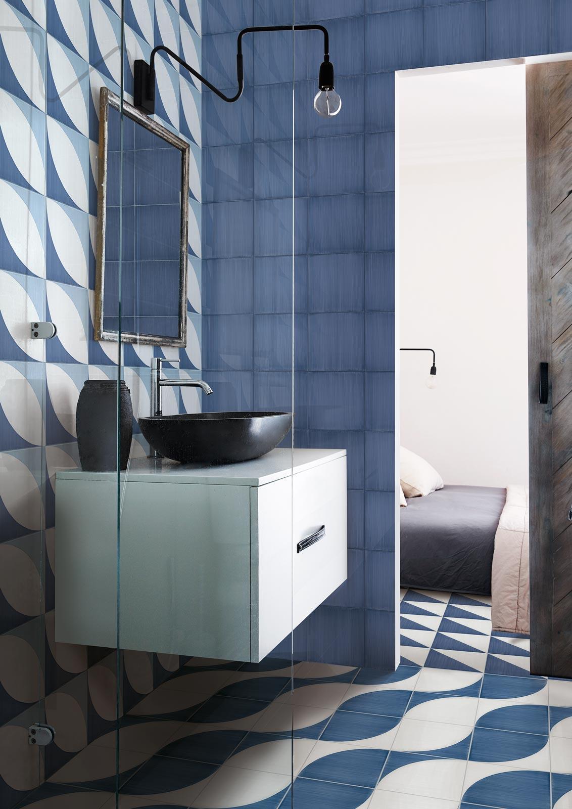 Łazienka w marynistycznym stylu