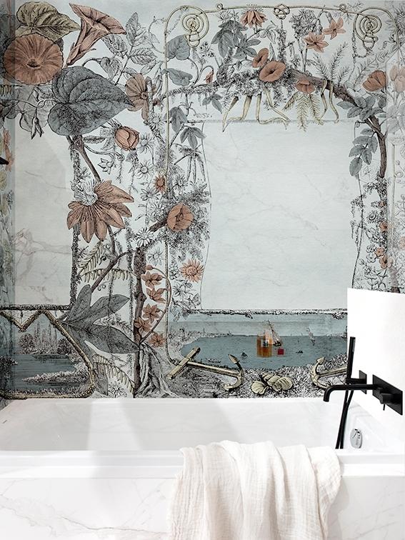 Tapeta Robinson z nowej kolekcji Wet System od Wall & Deco
