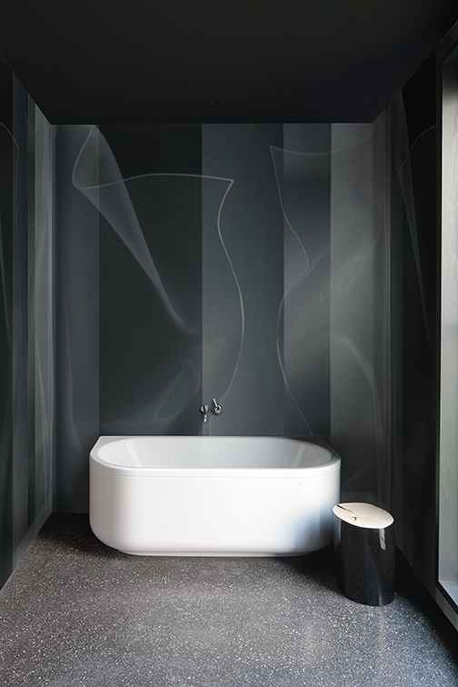 Tapeta Tip Toe z nowej kolekcji Wet System od Wall & Deco