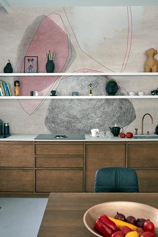 Tapeta Where is the line z nowej kolekcji Wet System od Wall & Deco