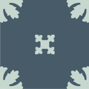 Płytki Bisazza BDS Paper Blue_Q 20×20