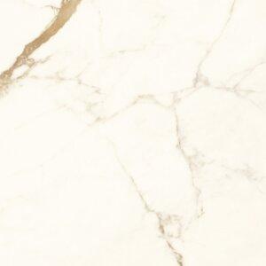 Płytka wielkoformatowa IH Selection A656796 biało-złoty 120×260 matowa