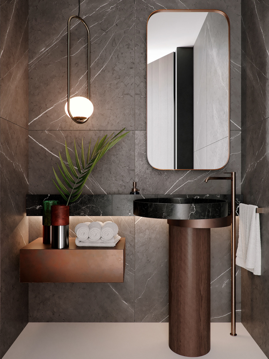Designerska strefa wc