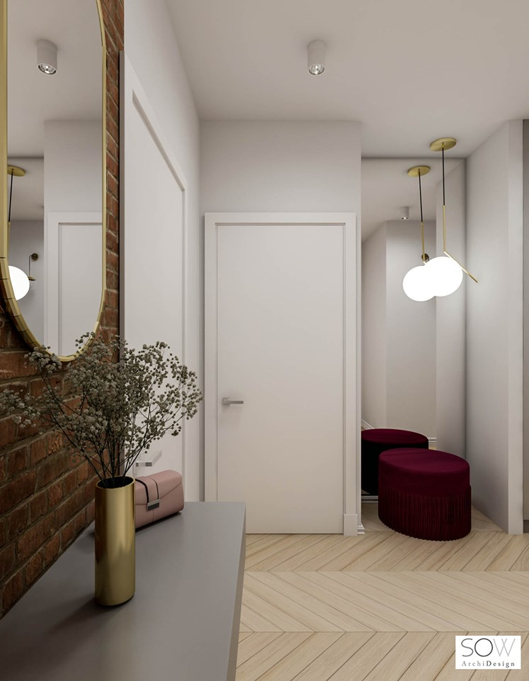 Z nutą Art Deco | Projekt Sow Archi Design