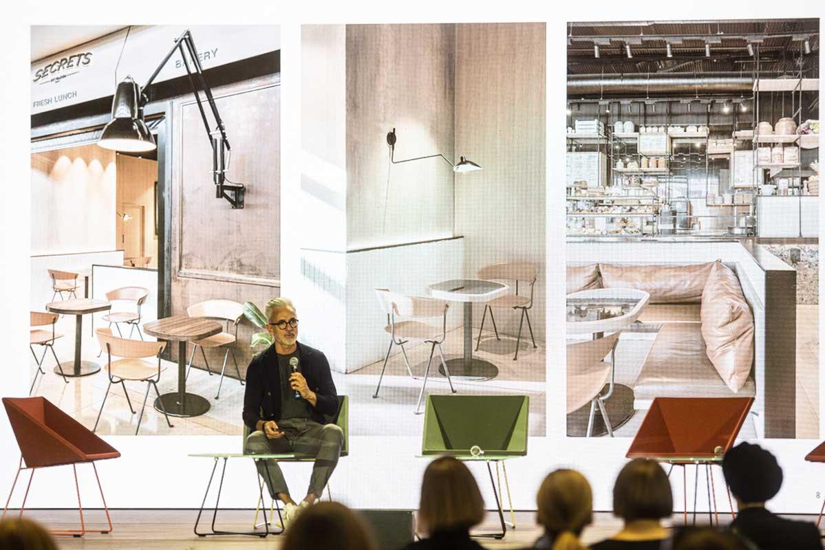 Jaime Beriestain na scenie Design Forum_2019