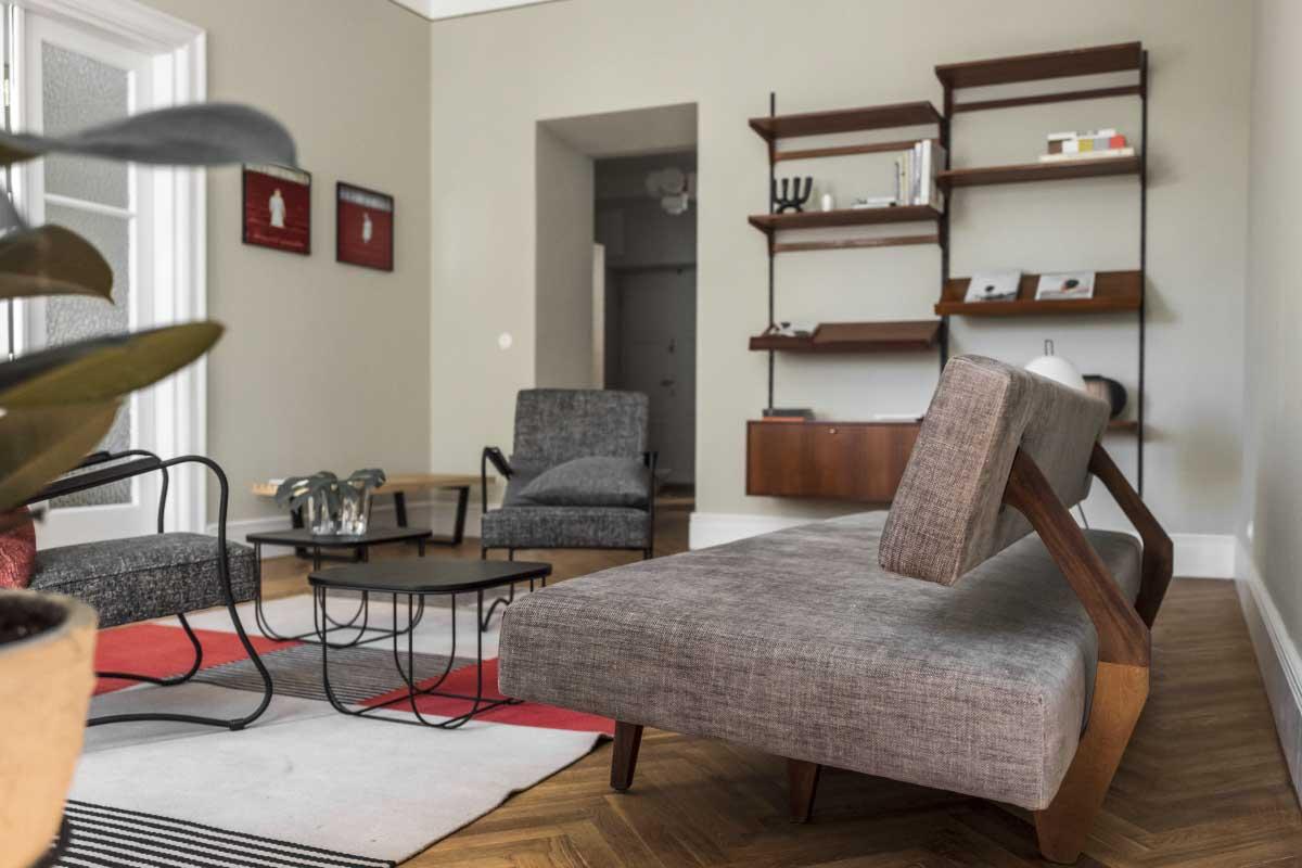 Mieszkanie na warszawskich Filtrach. | Projekt: Loft Kolasiński