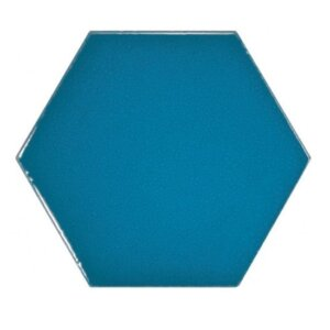 Płytki Equipe Scale Hexagon Electric Blue 12,4 x 10,7