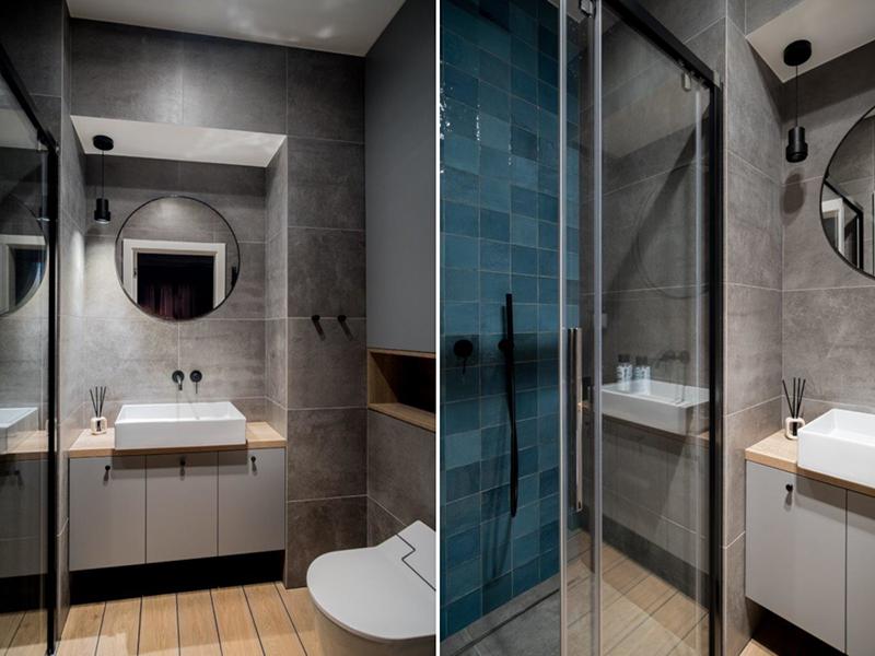 Aranżacja łazienki z płytkami Mestizaje Zellige od Wow Design