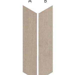 Płytki Wow Design kolekcja 60º Chevron Wood Mid