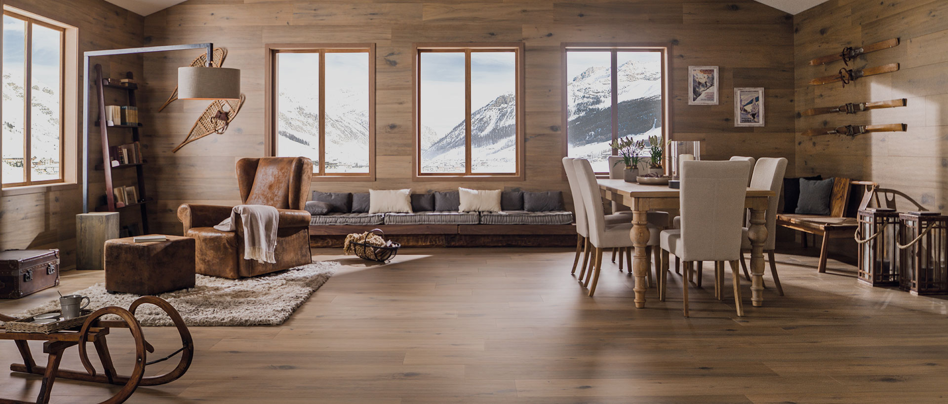 Drewniane płytki Porcelanosa - przyjdź do naszych salonów!