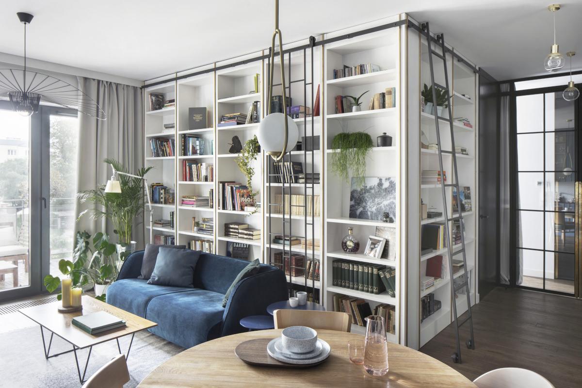 Salon w stylu eklektycznym