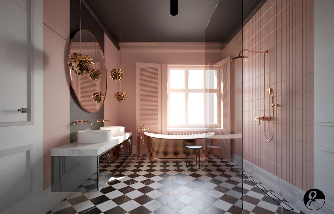 Projekt łazienki Anna Koszela-Krawczyk