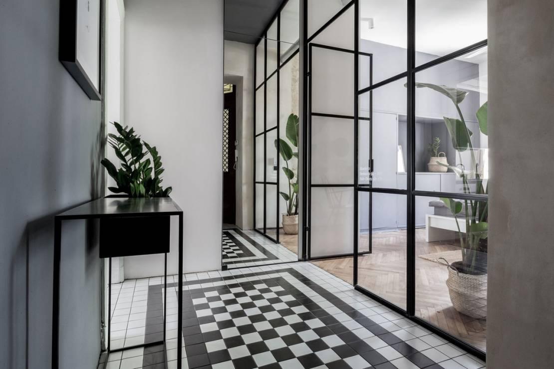 Metamorfoza 45 - metrowego mieszkania w Łodzi | proj. Scandilove