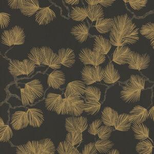 Tapeta Sand Berg kolekcja Nippon seria Pine Black