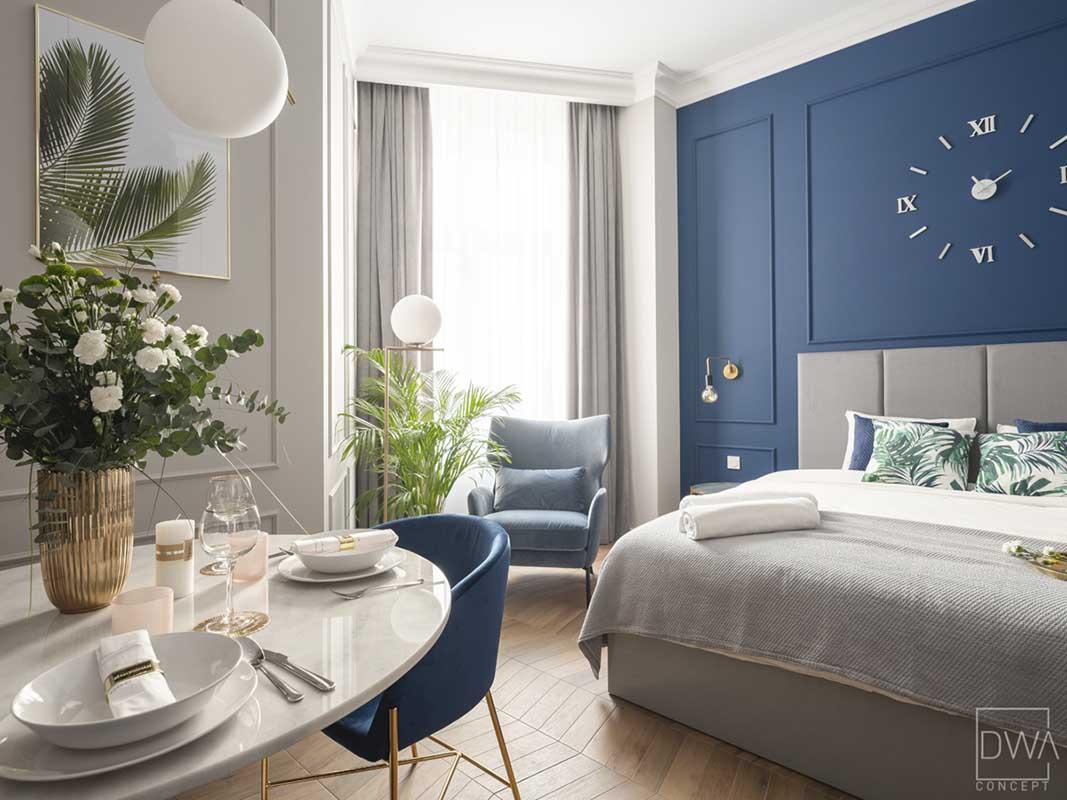 Projekt małego mieszkania w Krakowie | proj DWAconcept