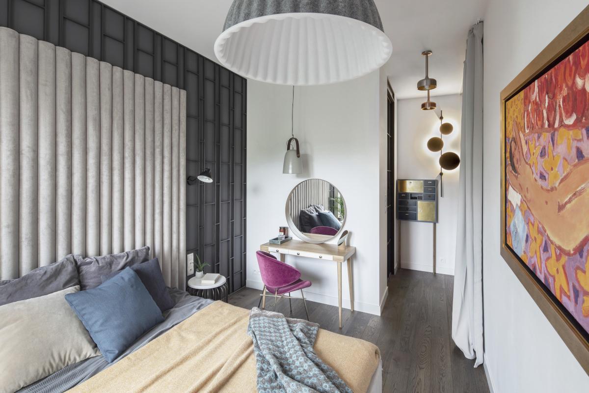 Sypialnia   proj. Kando Architects