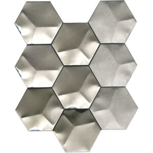 PŁYTKI L'ANTIC COLONIAL PORCELANOSA METAL ACERO HEXAGON