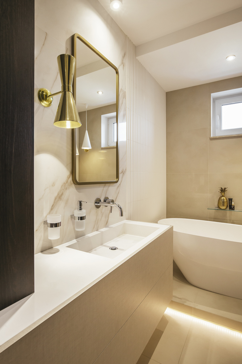 Projekt łazienki FinchStudio