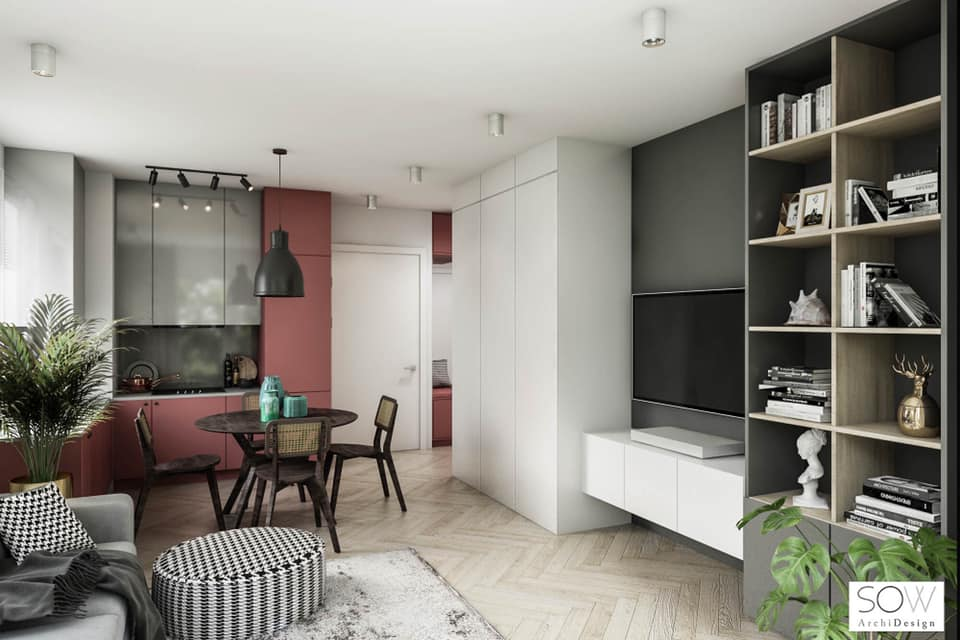 Kuchnia projekt Sow Archi Design