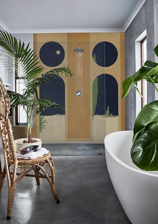 Plecione meble doskonale sprawdzą się w aranżacjach nawiązujących do natury (źródło: Wall & Deco)