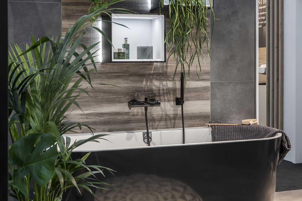 Łazienka w naturalnym wydaniu (na zdjęciu wanny od Villeroy & Boch - produkty dostępne w naszych showroomach)