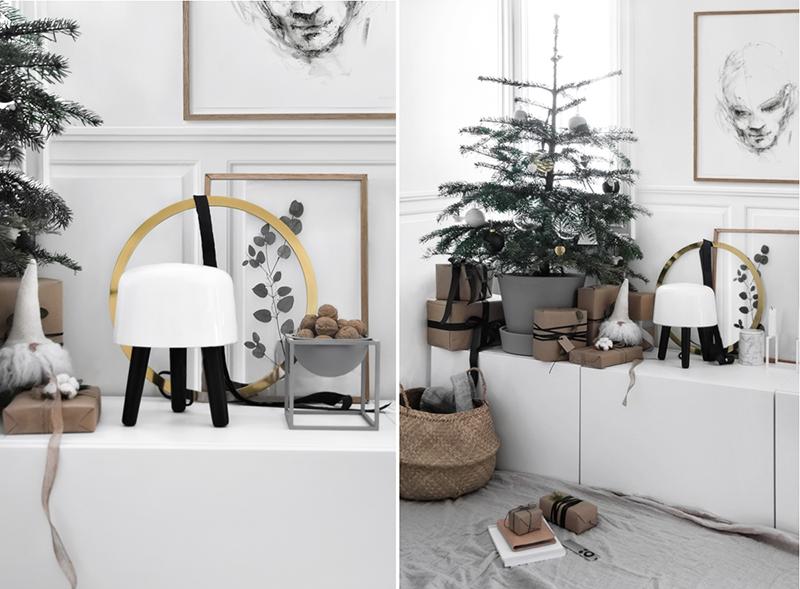 Subtelne dekoracje na Boże Narodzenie 2019 | źródło: Pinterest