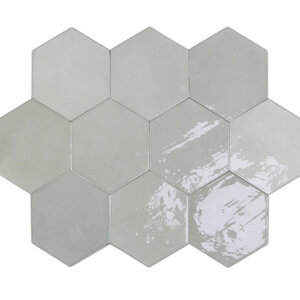 Płytki Wow Design kolekcja Zellige Hexa Grey