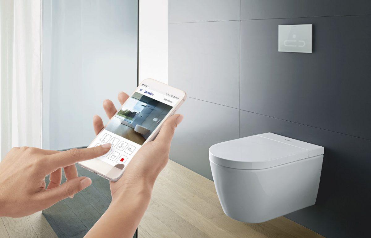 Deska myjąca SensoWash® F projektu Philippe Starcka otrzymała nagrodę German Award Design