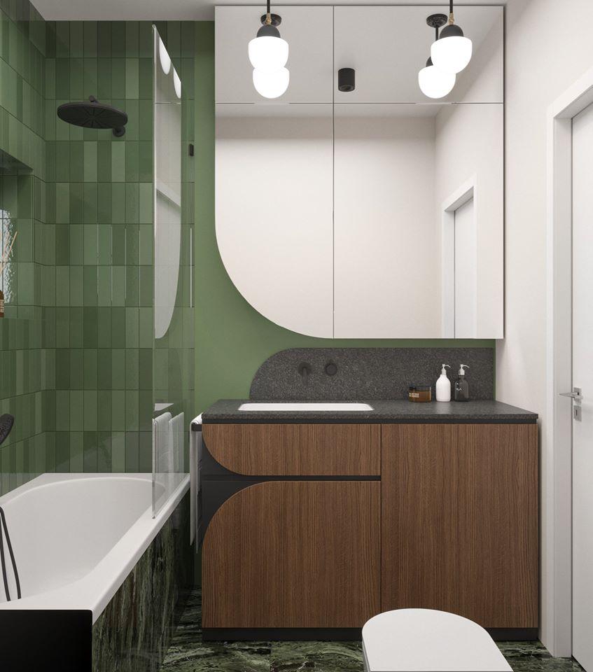 Projekt łazienki Dziurdzia Projekt