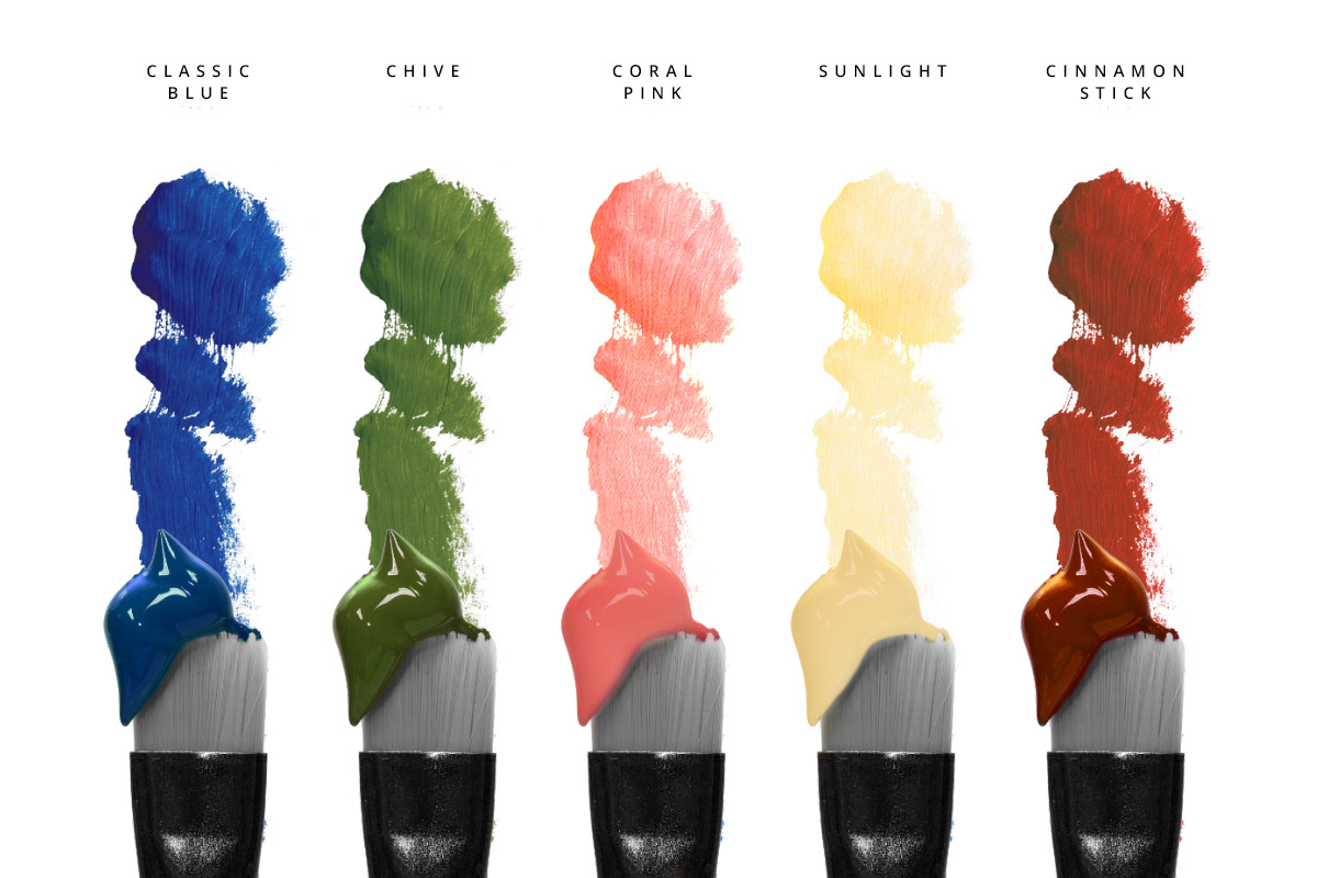 Kolory z palety Pantone Spring / Summer 2020, które doskonale odnajdą się w aranżacji sypialni