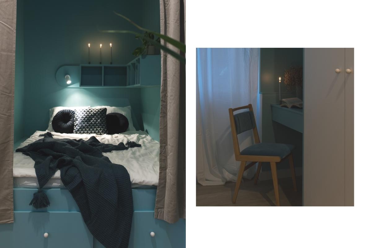 kolorowe mieszkanie