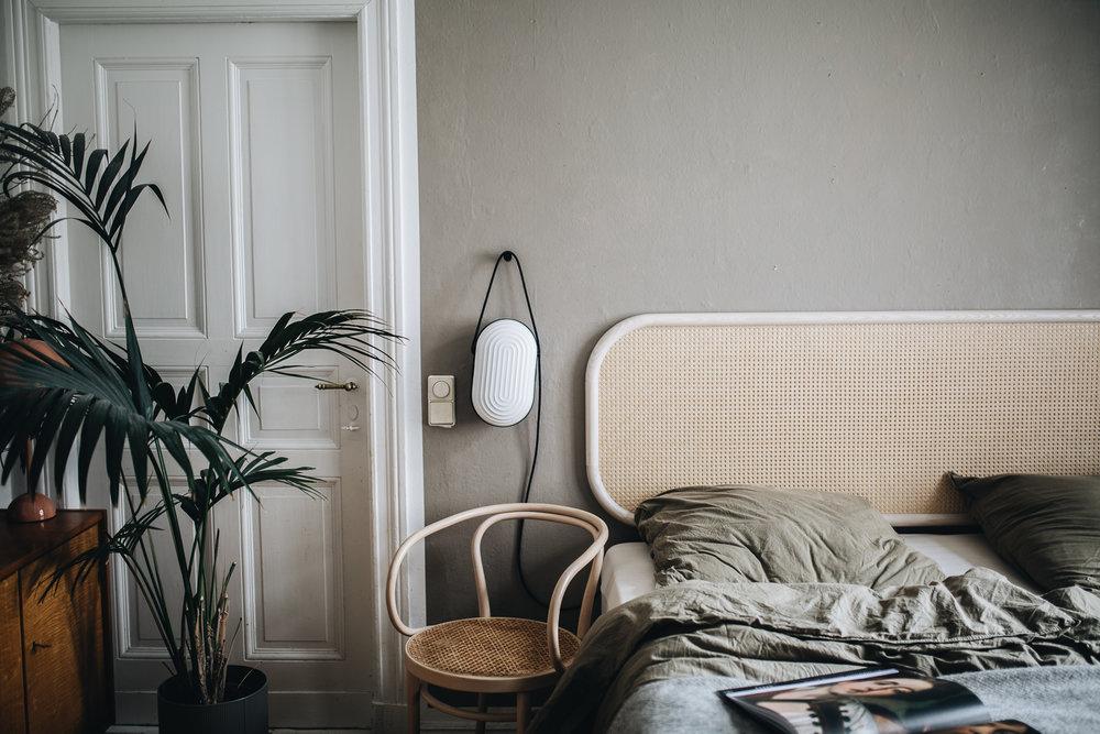 Żywa roślinność jest nieodłącznym elementem sypialni nie tylko w stylu boho